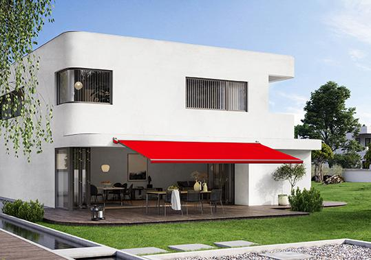 A new awning revs up summer: the MX-3 from markilux