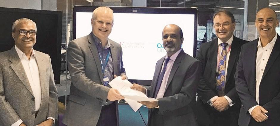 KLE Technological University partners with Coventry