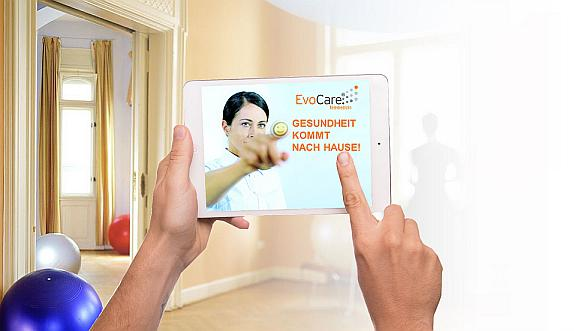 Approval for the digitized EvoCare®-Therapy