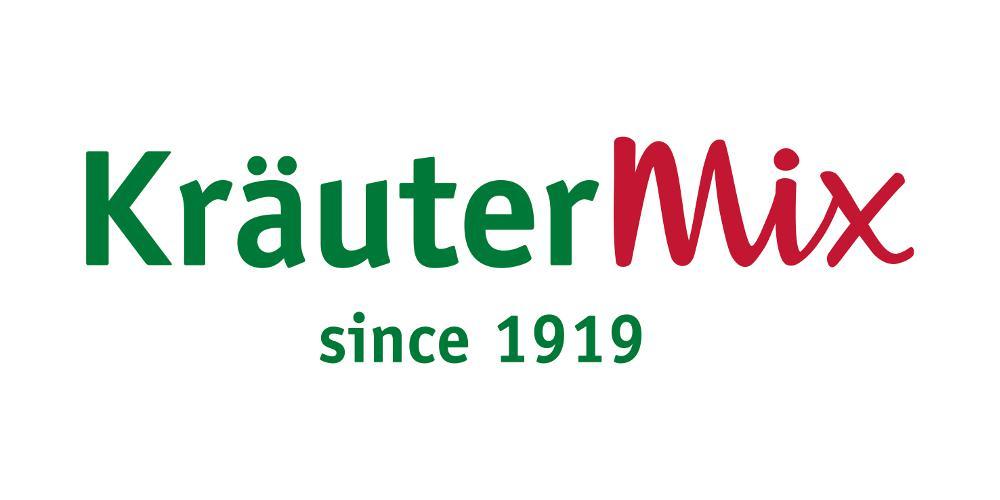 The new company logo of Kräuter Mix.