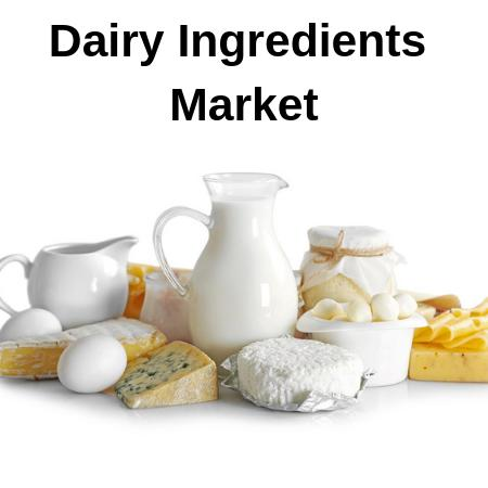 Dairy Ingredients Market Competitive Analysis 2025 By Top Key