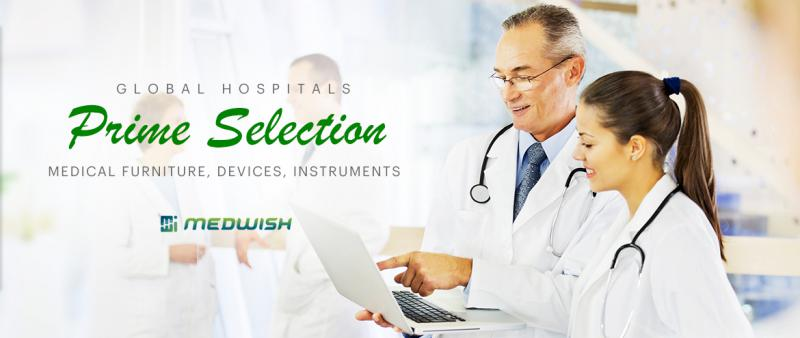 Medwish provide a variety of medical equipment to hospitals around the world.