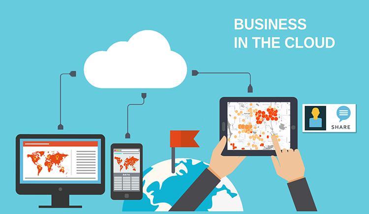 cloud geospatial information service