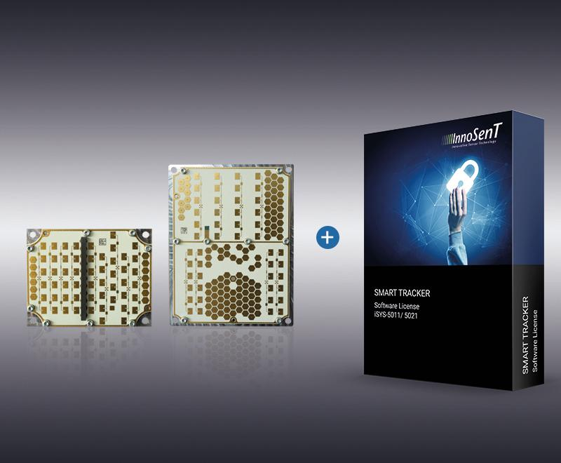 The new radar system iSYS-5011 and -5021 with Tracker License. Source: ©InnoSenT GmbH