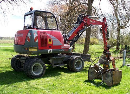 Wheeled Excavators Market