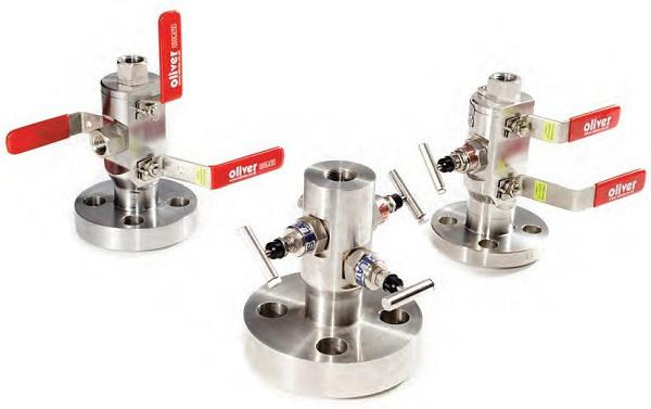 Double Block and Bleed Valves Mainfolds
