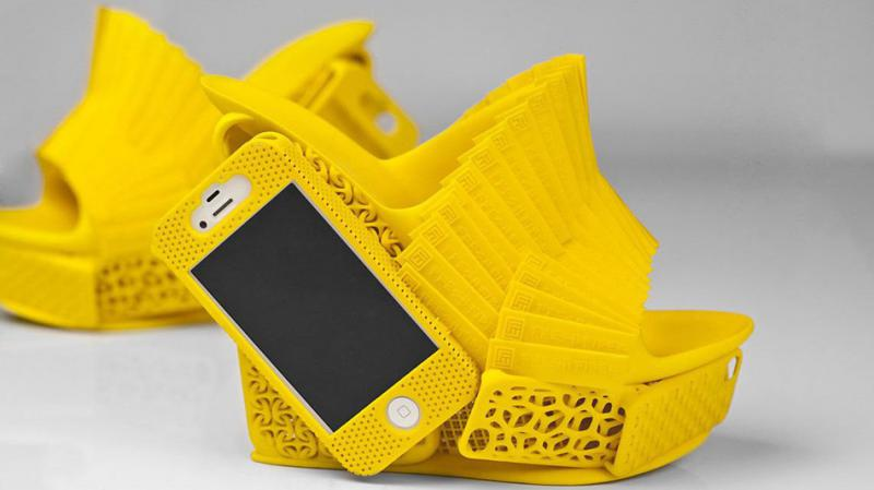 3D-Printed Shoes