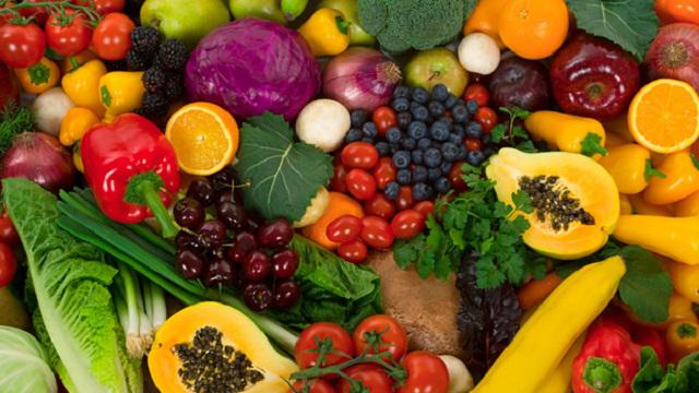 FRUITS AND VEGETABLES INGREDIENTS