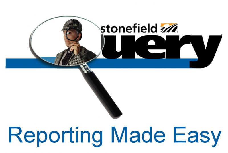 Stonefield Software Inc., the maker of the award-winning Stonefield Query, has been developing ad hoc database reporting solutions