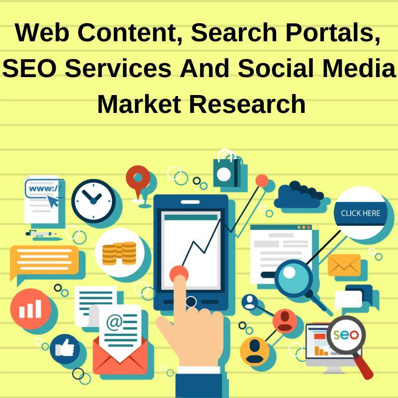 Web Content, Search Portals, SEO Services And Social Media Market