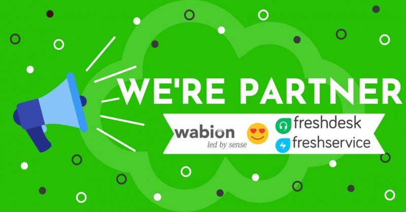 Wabion & Freshworks - New Partnership for your Cloud-Based ITSM