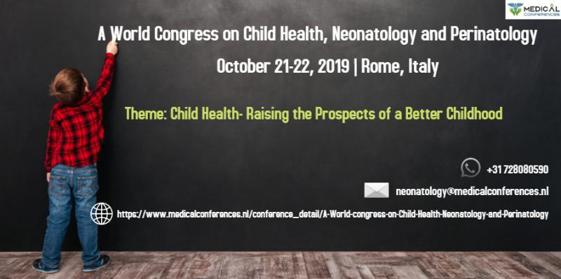 A World Congress on Child Health, Neonatology and Perinatology