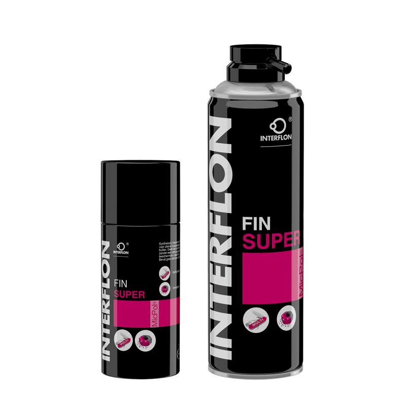 Interflon Fin Super is for use in industry and in the home.