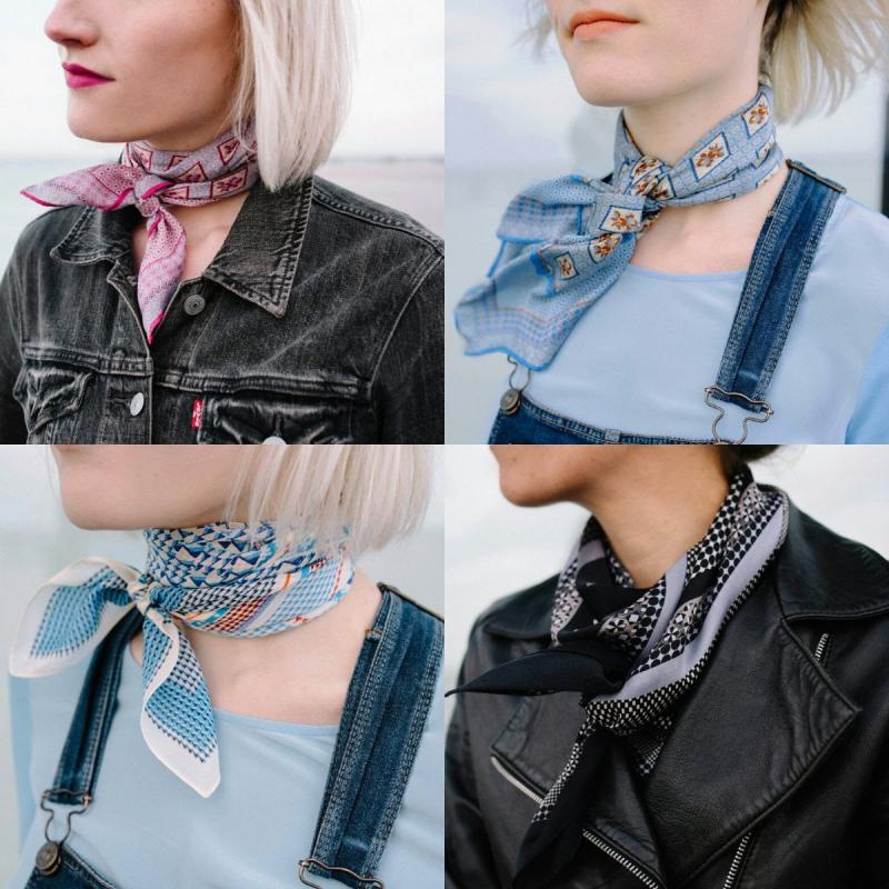 Neckerchief Chic - The Art of the Small Scarf - Laslett England