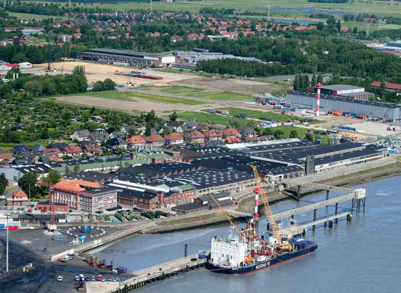 The Norddeutsche Seekabelwerke (NSW) sites are located directly on the Weser River in Nordenham (Germany)