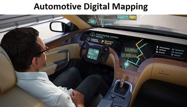 Automotive Digital Mapping Market