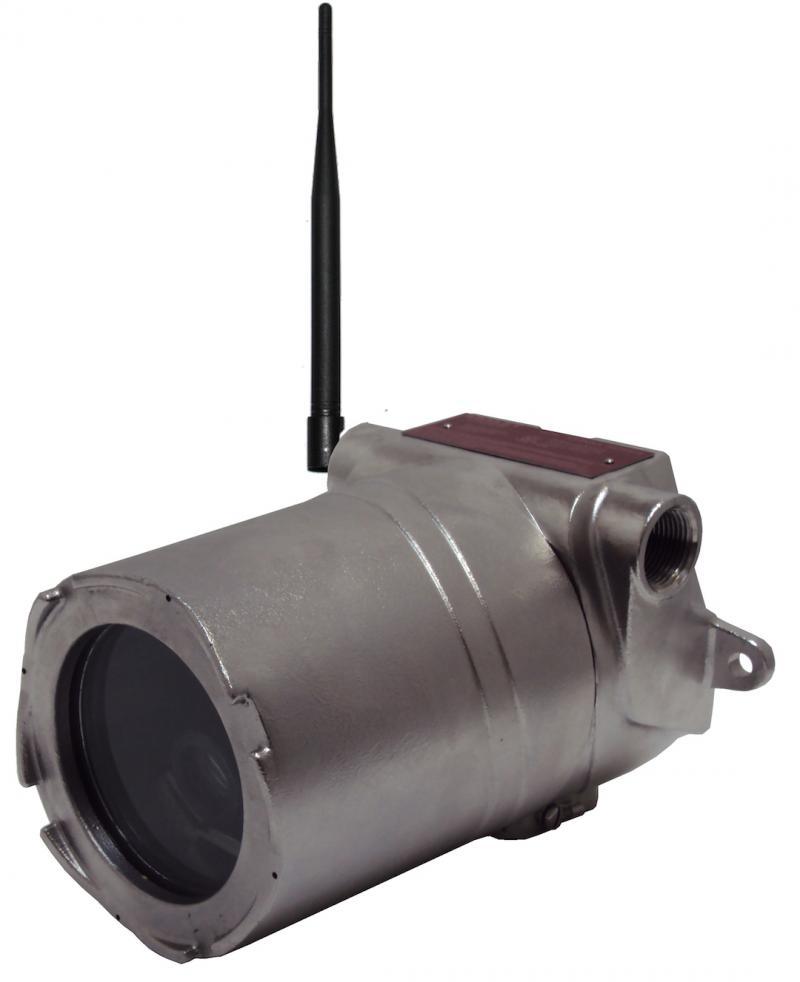 IVC's AMZ-HD42-1 Wireless Hazardous Area Camera