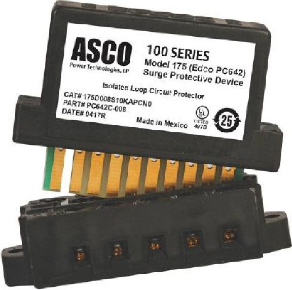The ASCO Model 175 SPD with PCB1B Base