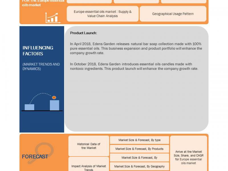 Europe Essential Oils Market Revenue Analysis