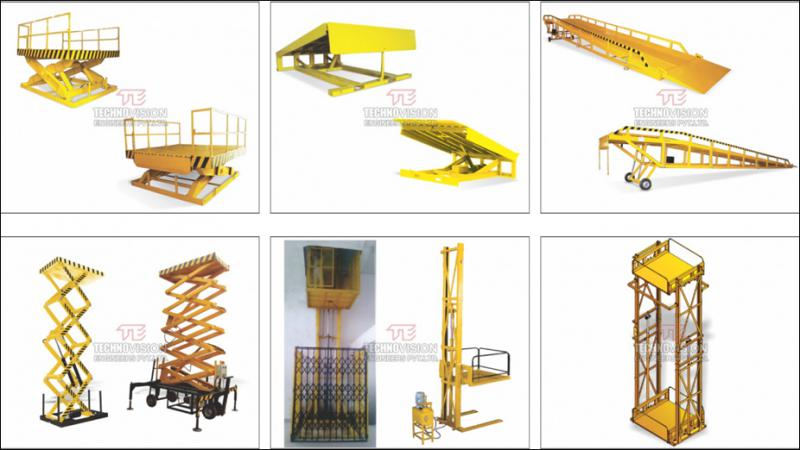 Hydraulic Goods Lift   Scissor Lift   Dock Ramp   Dock Leveler -