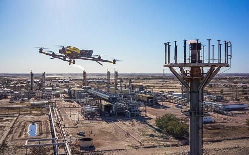 Oil & Gas Drones Market