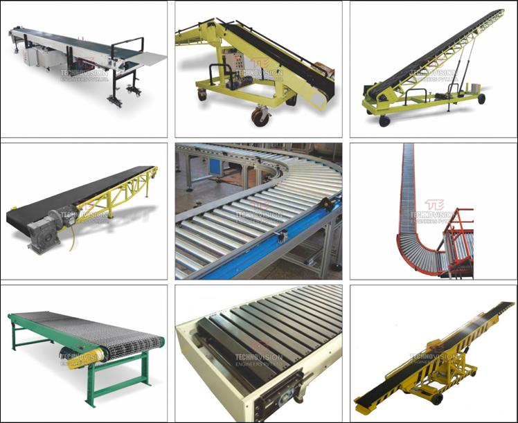 Material Handling Conveyors | Industrial Conveyors -