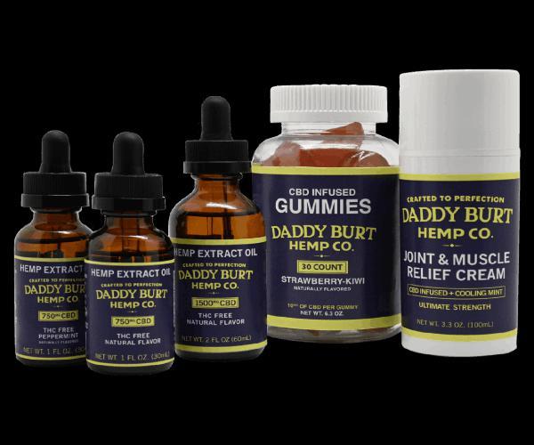 Daddy Burt CBD Products