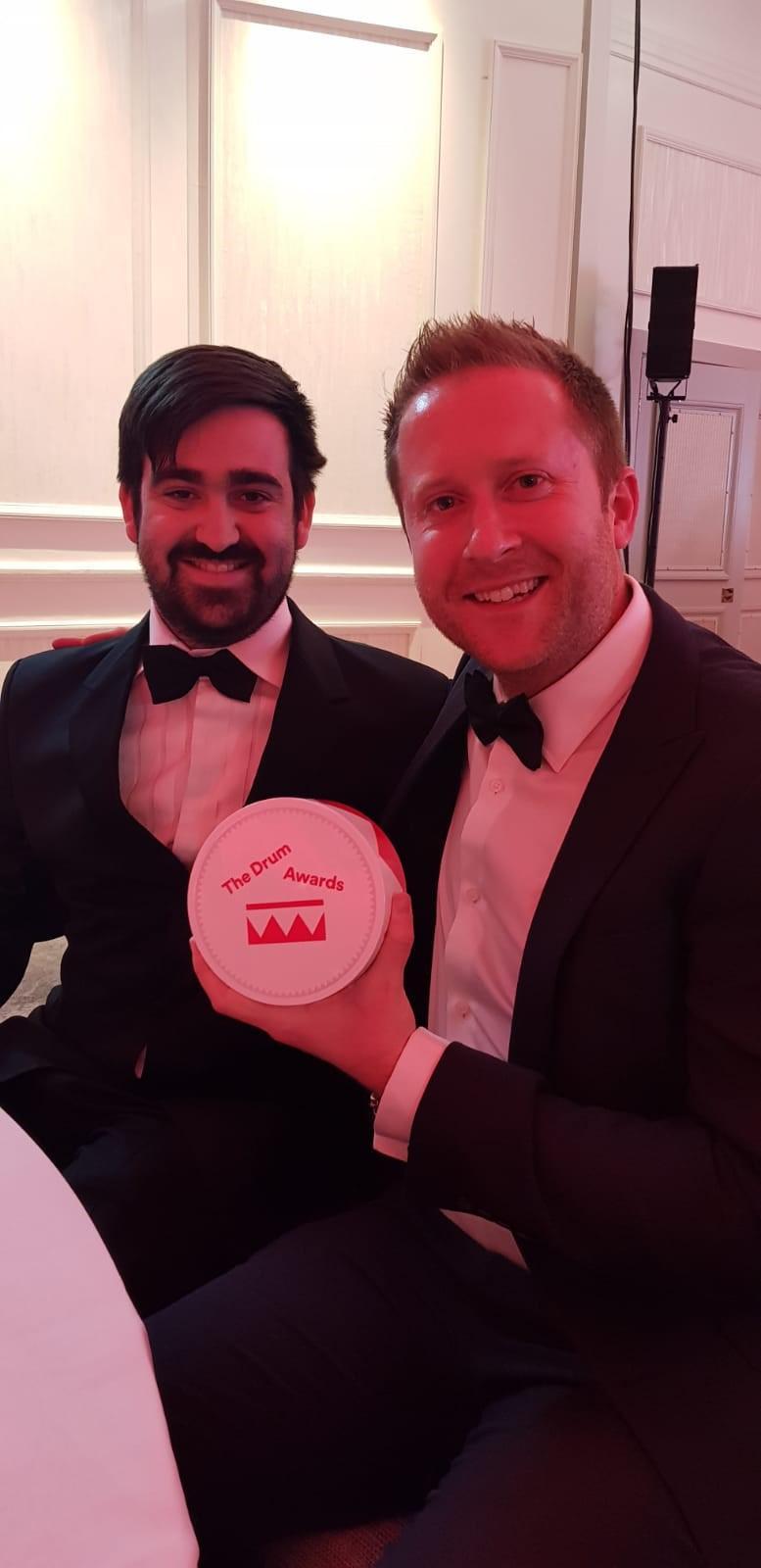 Receptioanl Win Digital Marketing Award