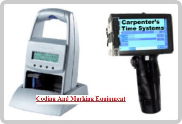 Coding And Marking Equipment