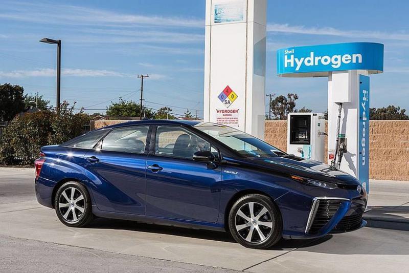 Hydrogen Car from Toyota