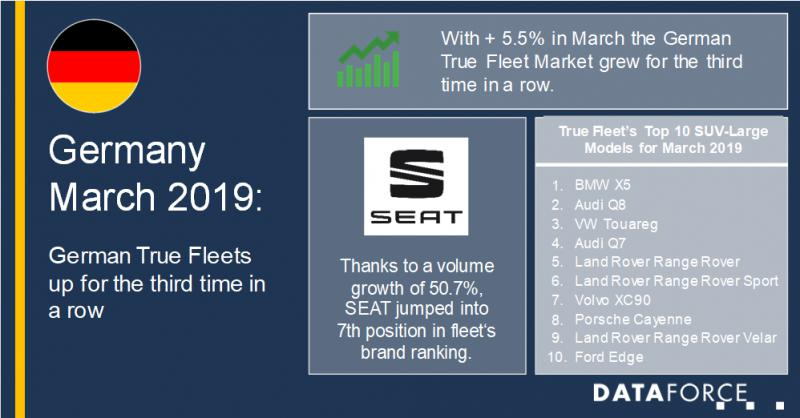 March 2019: German True Fleets up for the third time in a row