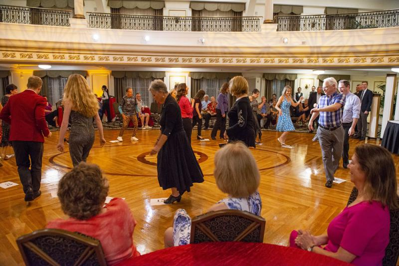 Cake Walk at the Savoy South Swing Dance for Charity