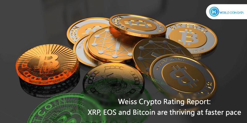 Weiss Crypto Rating Report: XRP, EOS and Bitcoin are thriving