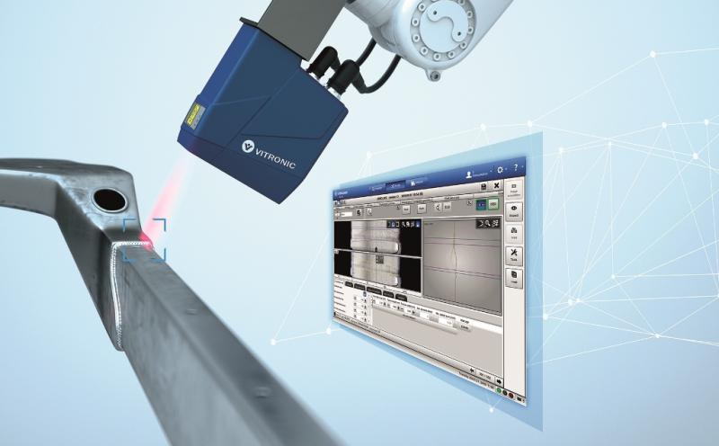 Weld seam inspection system VIRO WSI with new sensor generation