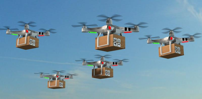 Global Delivery Drones Market 2019, top player Amazon (U.S.),
