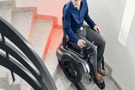 Manual Stair Climbing Wheelchair