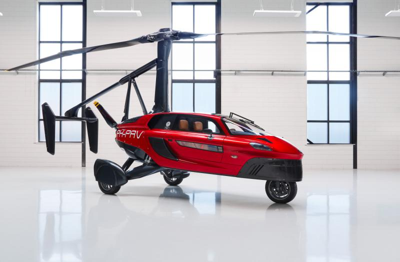 PAL-V Liberty world's first commercial flying car