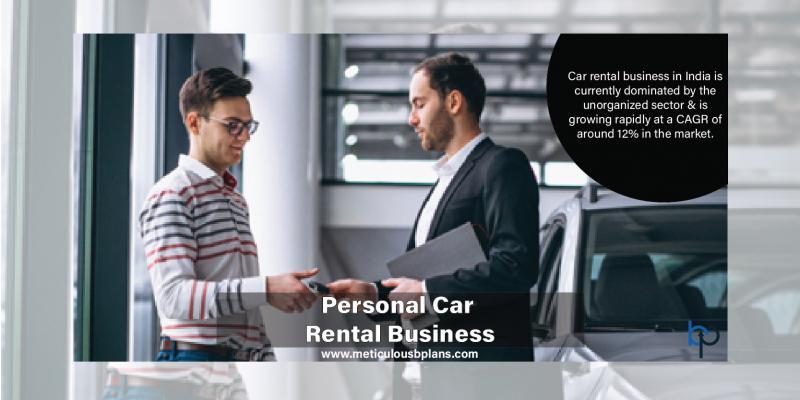 Personal Car Renting Business