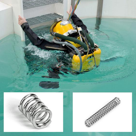 Lee Spring support the latest in saturation diving safety with custom valve springs for JFD Ltd
