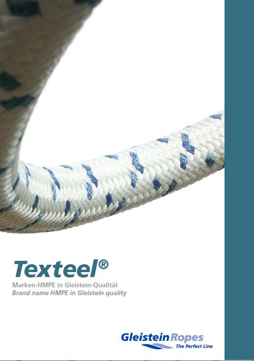 Gleistein Ropes launches Texteel® ? the new force in quality HMPE textile ropes