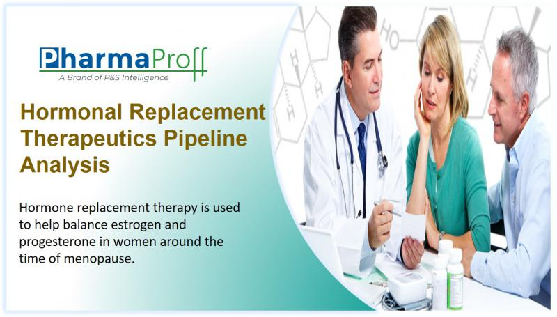 Hormonal Replacement Therapeutics - Pipeline Analysis 2018  