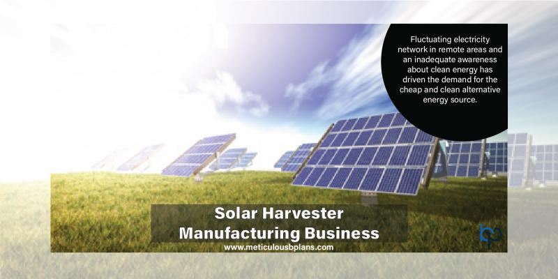 Solar Harvester Manufacturing Business