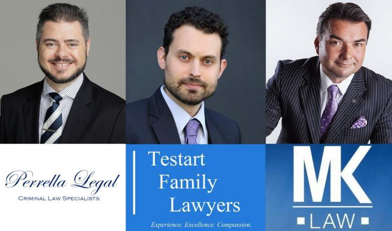 Perrella Legal, Testart Family Lawyers, MK Law