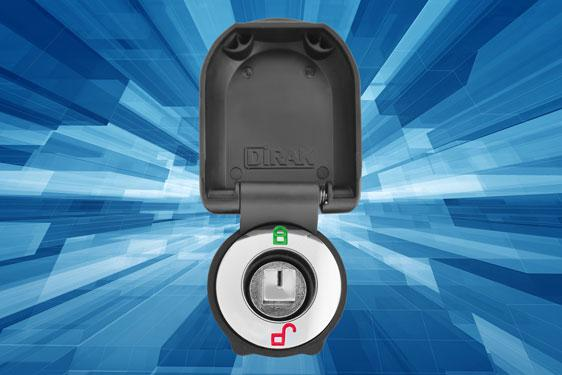 FDB Panel Fittings – protect your quarter-turn locks with new flap lid