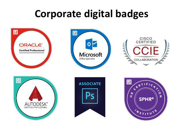 Corporate Digital Badges Market, Top key players are Credly