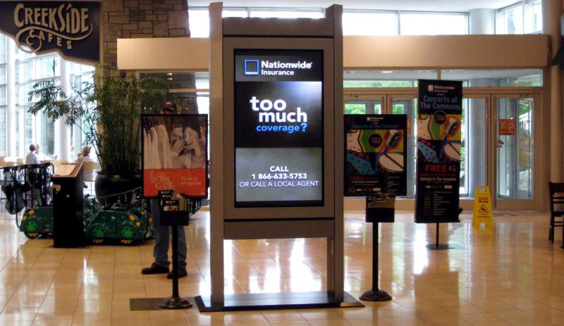 Digital Out of Home Advertising Market, Top key players