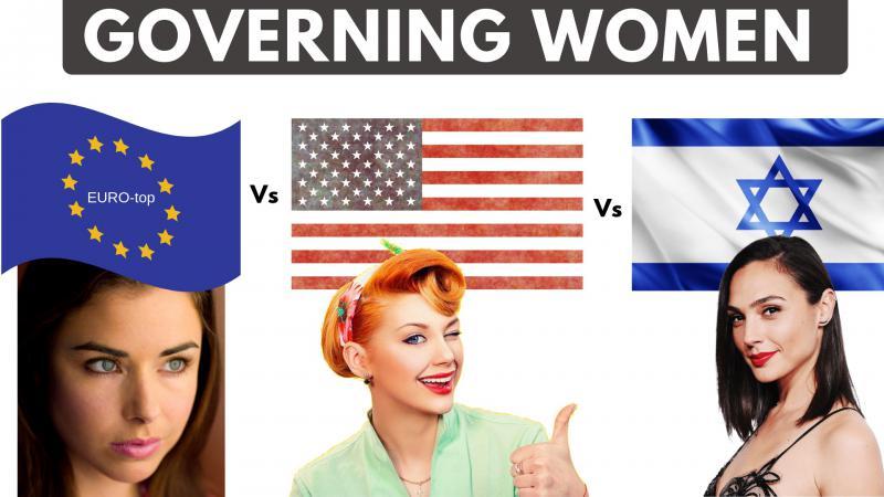 Don Karl Juravin reviews | women in politics | comparing USA, Europe, Israel
