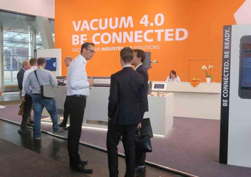 Busch dedicated its appearance at this year's ComVac entirely to Industry 4.0