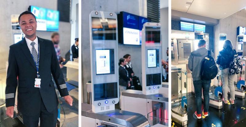 Finnair starts Biometric Boarding with Vision-Box at Los