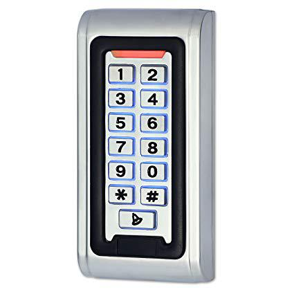 Access Control Keypad Focusing On Top Key Players - Bergquist